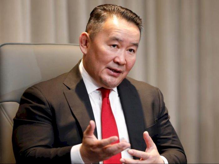 Sepulang dari Tiongkok, Presiden Mongolia Dikarantina 14 Hari