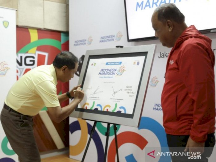 Pertama Kali, Indonesia Marathon Siap Digelar