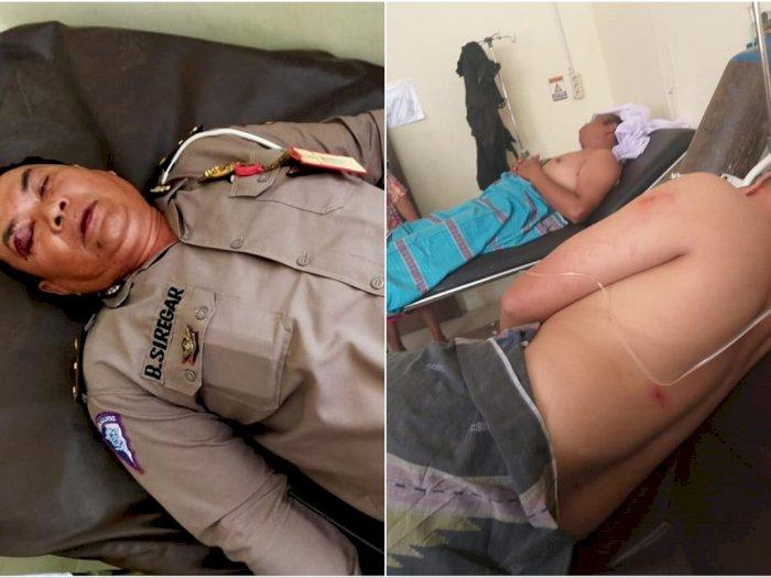Mapolsek Diserang Oknum Berseragam, Sejumlah Polisi Luka-Luka