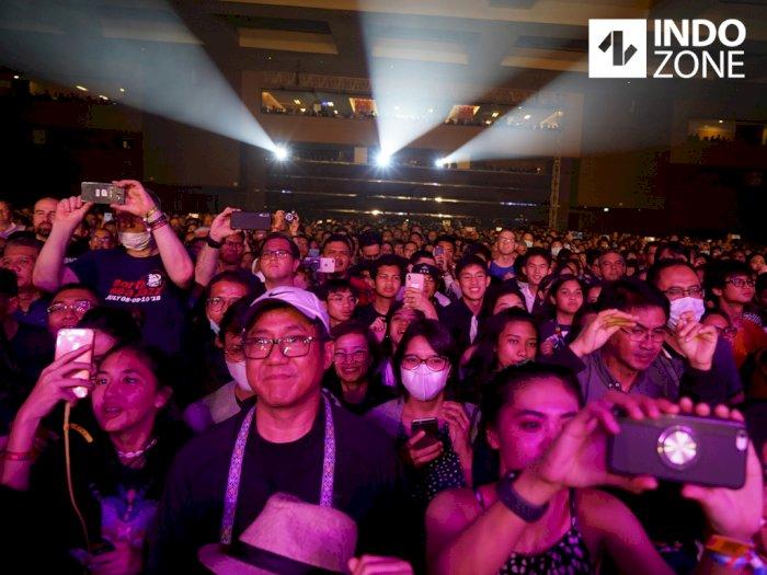 Marak Virus Corona, Pengunjung Java Jazz 2020 Santuy Tanpa Masker