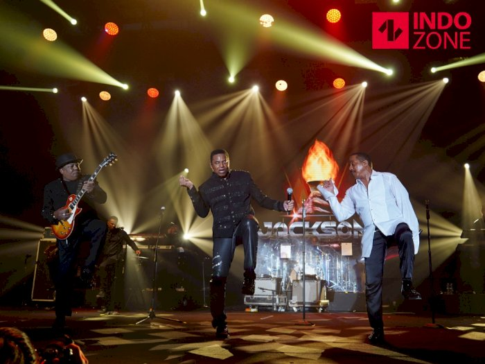 FOTO: Aksi The Jacksons di Panggung Java Jazz Festival 2020