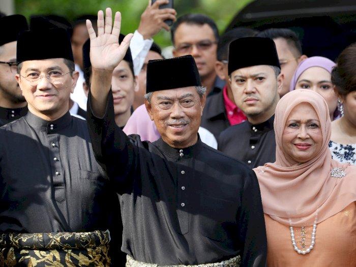 Sah! Muhyiddin Yassin Resmi Jadi Perdana Menteri Malaysia