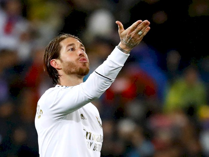 Sergio Ramos Balas Pernyataan Gerard Pique Soal Madrid Terburuk