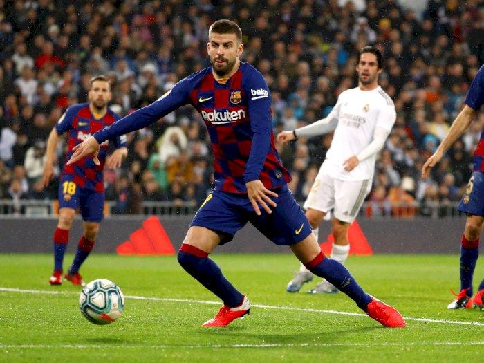 Barcelona Kalah, Pique Malah Sebut Real Madrid Terburuk
