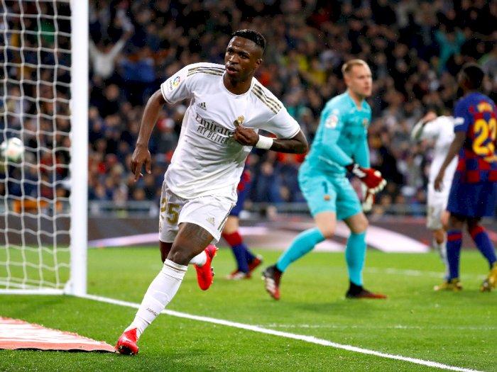 Real Madrid VS Barcelona: Los Blancos Menang 2-0