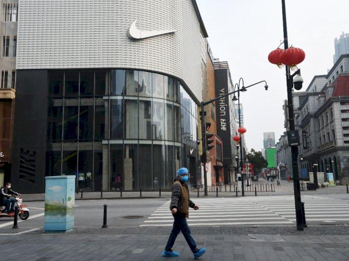 Sejumlah Kantor Pusat Nike di Eropa Terpaksa Sementara Tutup