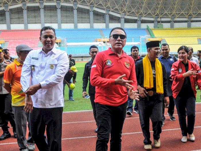 Iwan Bule Sebut Dua Stadion di Bekasi Kurang Lapangan  Latihan