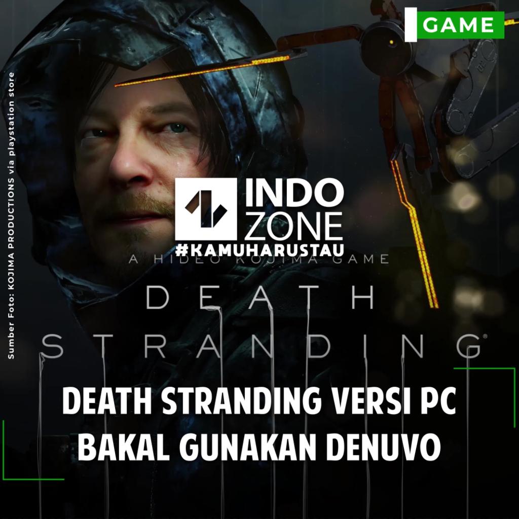 Death Stranding Versi PC Bakal Gunakan Denuvo