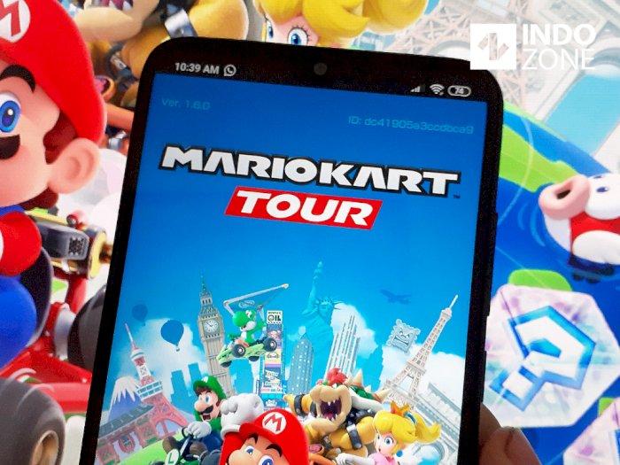Mode Multiplayer Siap Sambangi Mario Kart Tour di Update Terbaru