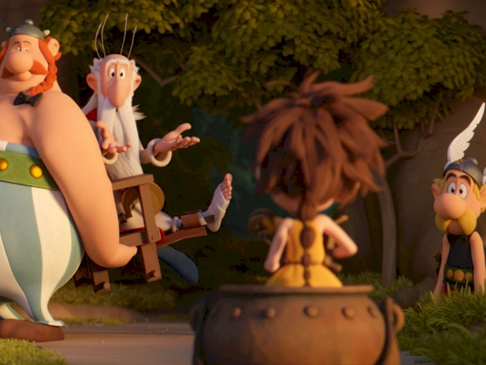 """Sinopsis Film """"Asterix : The Secret of the Magic Potion  - 2018"""""""