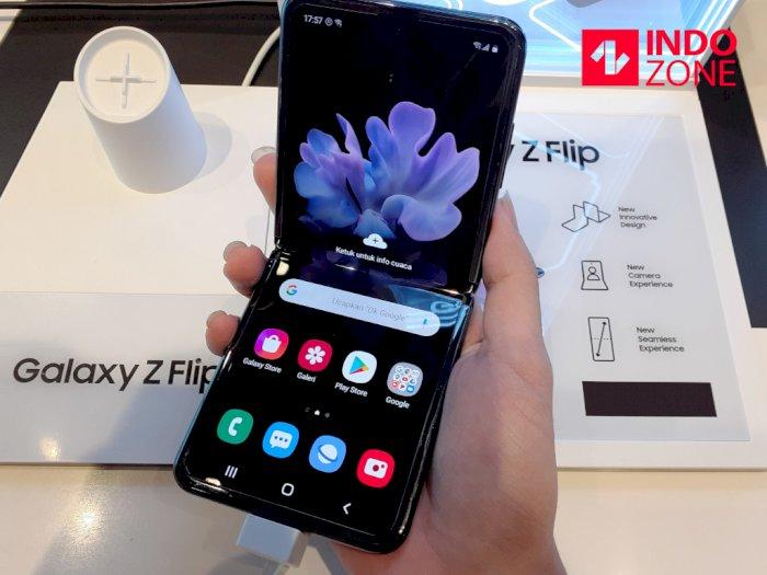 Resmi Dijual di Indonesia, Segini Harga dari Samsung Galaxy Z Flip!