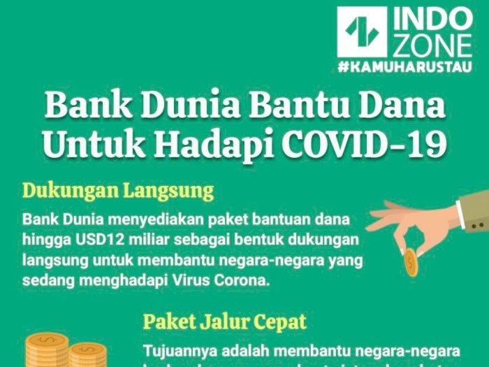 Bank Dunia Bantu Dana Untuk Hadapi COVID-19