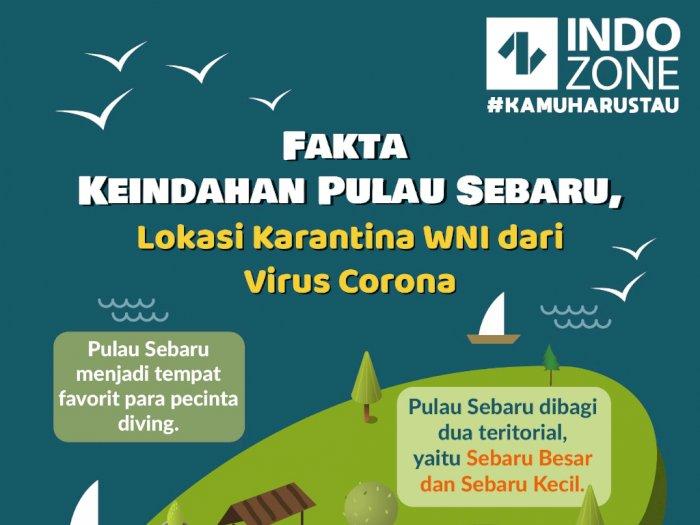 Fakta Keindahan Pulau Sebaru, Lokasi Karantina WNI Dari Virus Korona