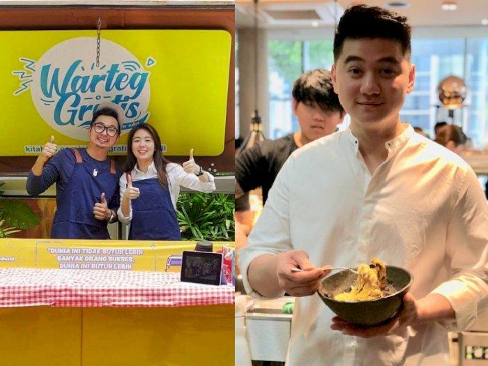 Makanan di Warteg Gratis Milik Edho Zell Dimasak Chef Arnold
