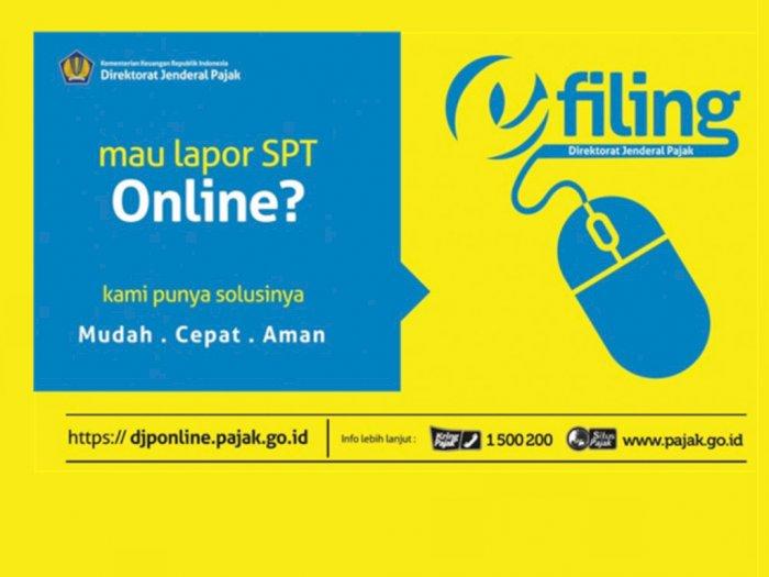 Lapor Spt Online Via Online Pajak Com Aktifkan Efin Batas Akhir Penyampaian Spt Pajak Penghasilan Halaman All Tribun Medan
