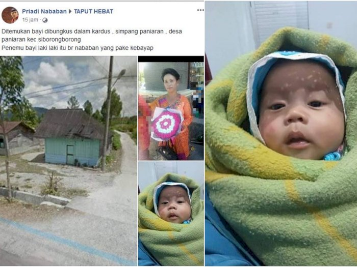 Viral, Warga Siborongborong Temukan Bayi di Dalam Kardus