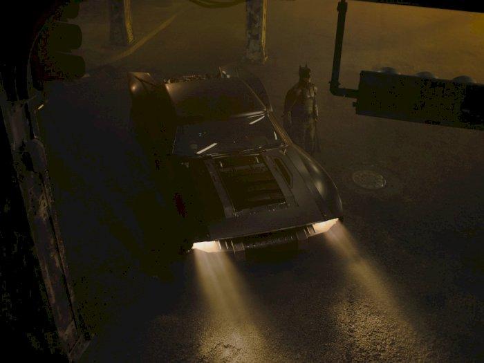 Beginilah Tampilan Batmobile Terbaru dalam Serial Film 'The Batman'