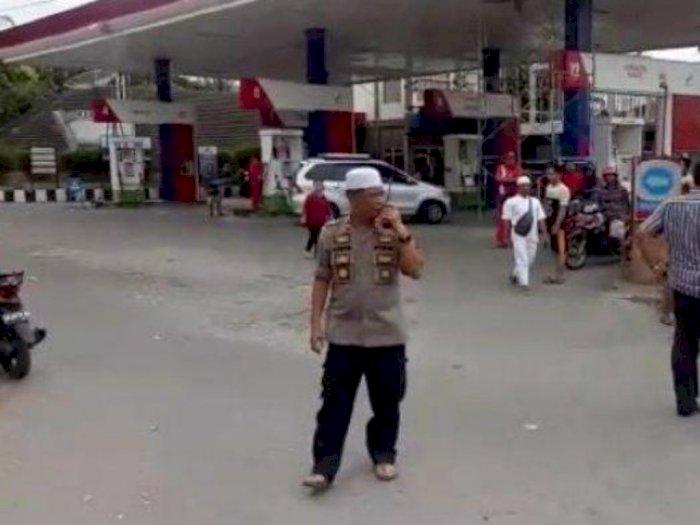 Viral Video Dua Kelompok Pelajar Tawuran di Jalan HM Yamin Medan