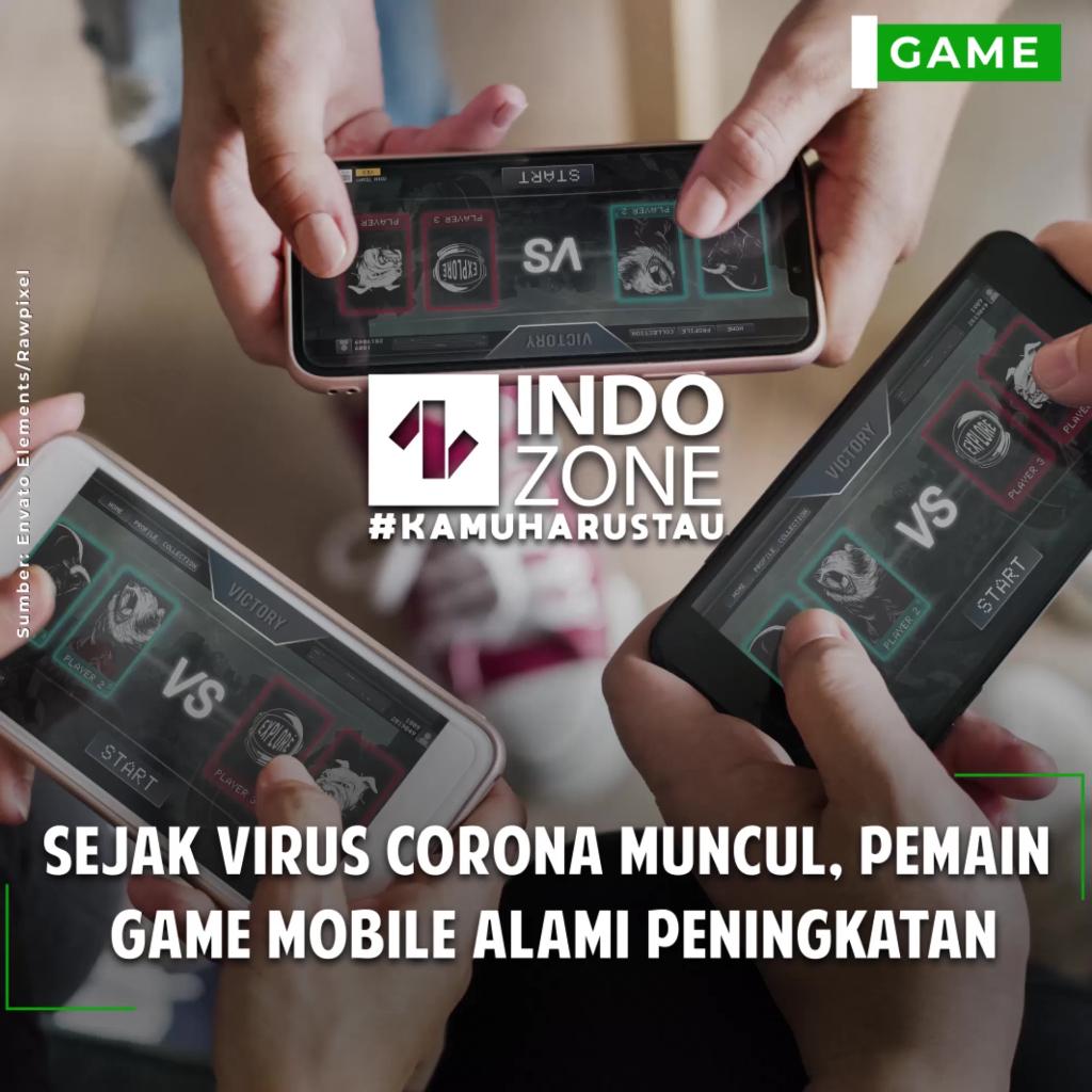Sejak Virus Corona Muncul, Pemain Game Mobile Alami Peningkatan