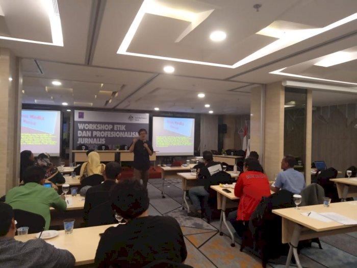 Gelar  Workshop dan UKJ, AJI Terus Dorong Profesionalisme Jurnalis