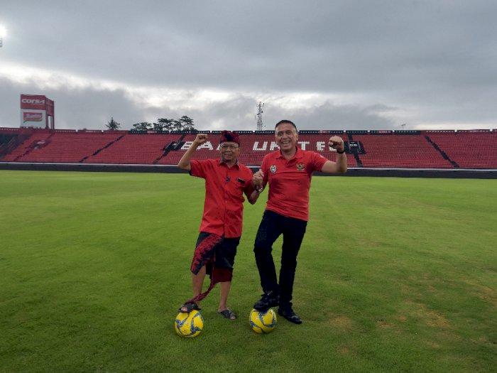 Tinjau Calon Venue Piala Dunia U-20 di Bali, Ini Masukan Ketum PSSI