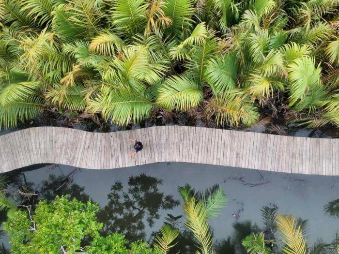 FOTO: Wisata di Green Talao Park di Sumatera Barat