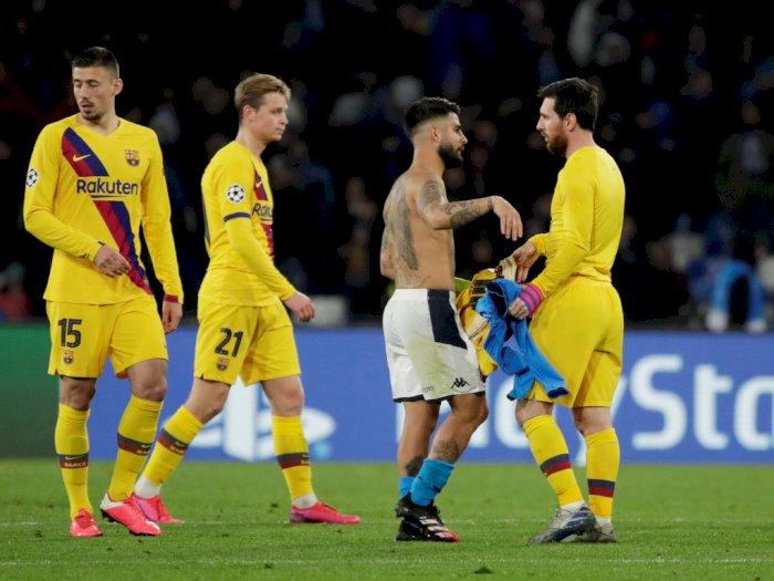 Barcelona VS Napoli Akan Digelar Tanpa Penonton