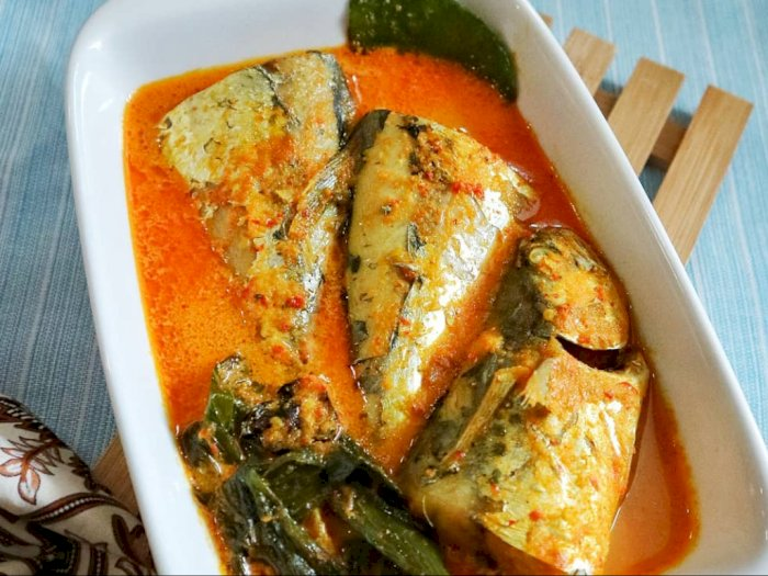 Ikan Tenggiri Santan Untuk Lauk Makan yang Sedap
