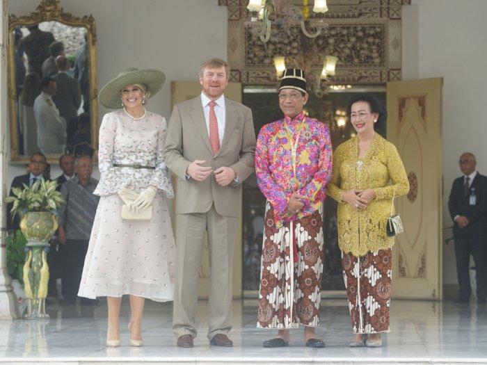 FOTO: Raja dan Ratu Belanda Kunjungi Keraton Yogyakarta