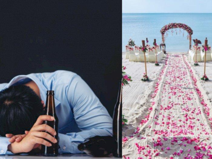 Pesta Miras Oplosan di Acara Pernikahan, Dua Pria Tewas