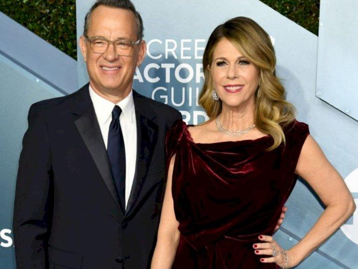 Berikut Ini 7 Potret Harmonisnya Rumah Tangga Tom Hanks dan Rita