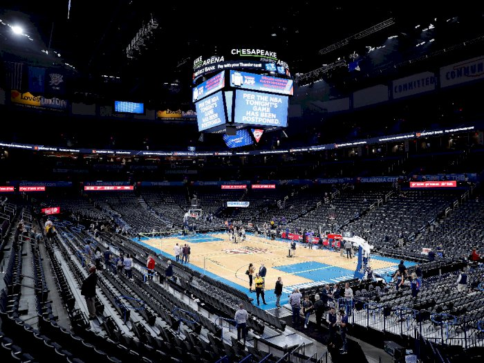 Pemain Utah Jazz Positif Virus Corona, NBA Ditangguhkan