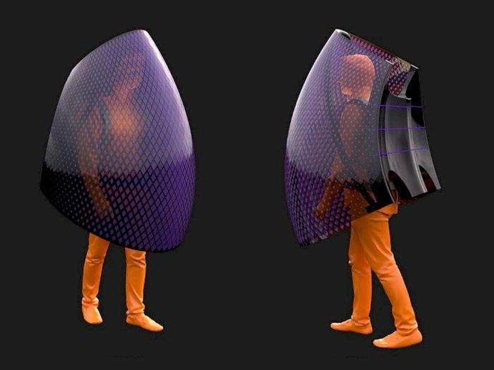 Desainer Asal Tiongkok Rancang Kostum Untuk Cegah Virus Corona!
