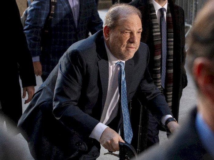 Harvey Weintsein Masuk Rumah Sakit Setelah di Vonis 23 Tahun Penjara