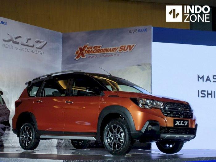Hebat, Penjualan Suzuki XL7 Tembus 2 Ribu Unit setelah Diluncurkan