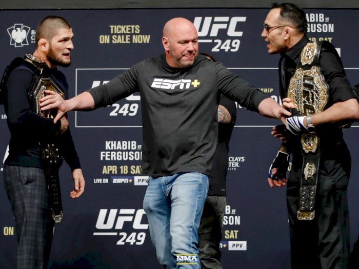 Pertarungan UFC antara Khabib vs Tony Ferguson Terancam Akibat Corona