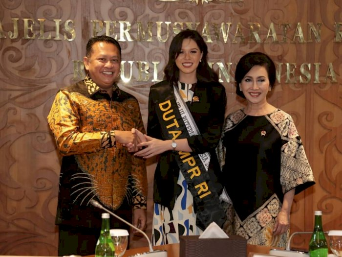 Usai Insiden Lupa Pancasila, Kalista Diangkat Jadi Duta MPR