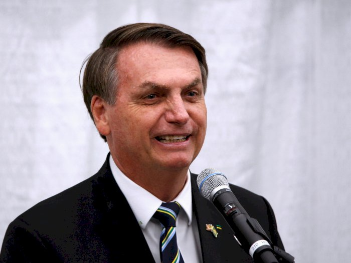 Presiden Brasil Jair Bolsonaro Dinyatakan Positif Covid-19