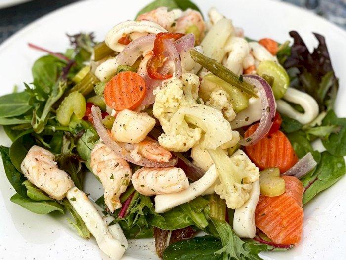 Sebuah Santapan Sehat dengan Resep Salad Seafood Berikut Ini