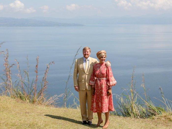 Kagumi Danau Toba, Raja dan Ratu Belanda Juga Kunjungi Pulau Samosir