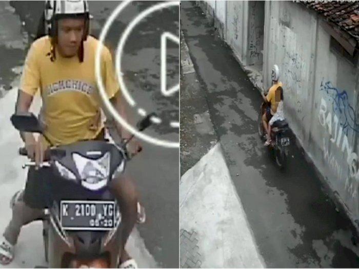 Viral! Predator Seks Cabuli Anak 5 Tahun di Gang Sepi di Yogya