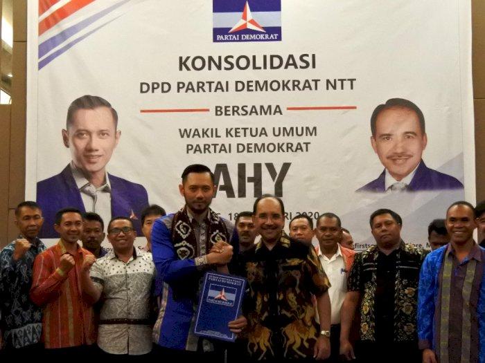 SBY Lepas Jabatan, AHY Maju Calon Ketua Umum Demokrat