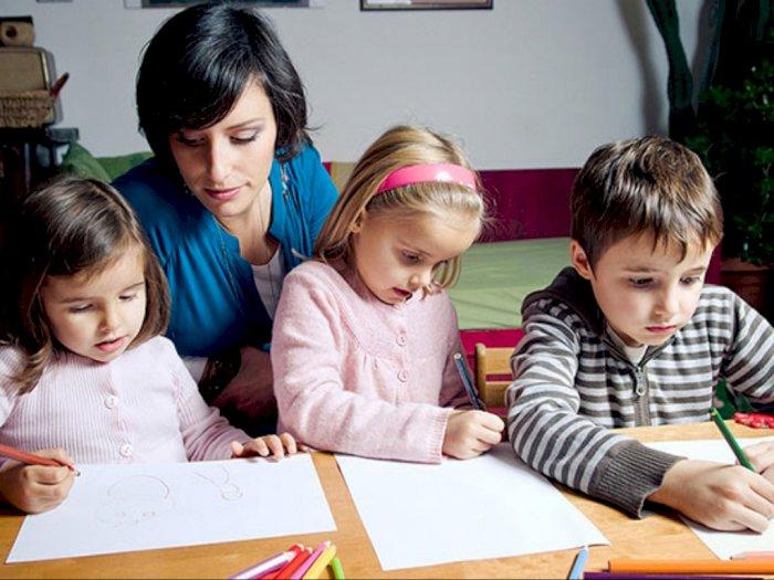 Wabah Virus Corona, Berikut Trik Jitu Ajari Anak Belajar di Rumah