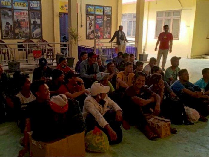 39 Orang TKI Ilegal Asal Malaysia Diamankan Polres Tanjungbalai