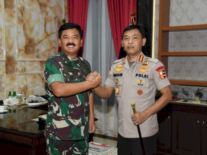 Biar Warga Patuhi Social Distancing, TNI dan Polri Dikerahkan
