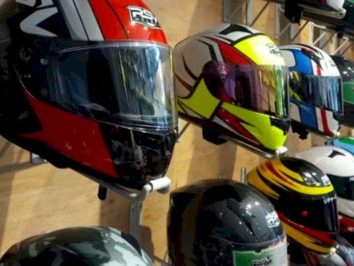 RSV Helmet Tidak Izinkan Konsumen 'Fitting' Helmet Guna Cegah Corona