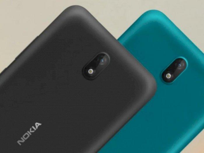 HMD Global Rilis Nokia C2 dengan Android Go, Miliki Flash Kamera Depan
