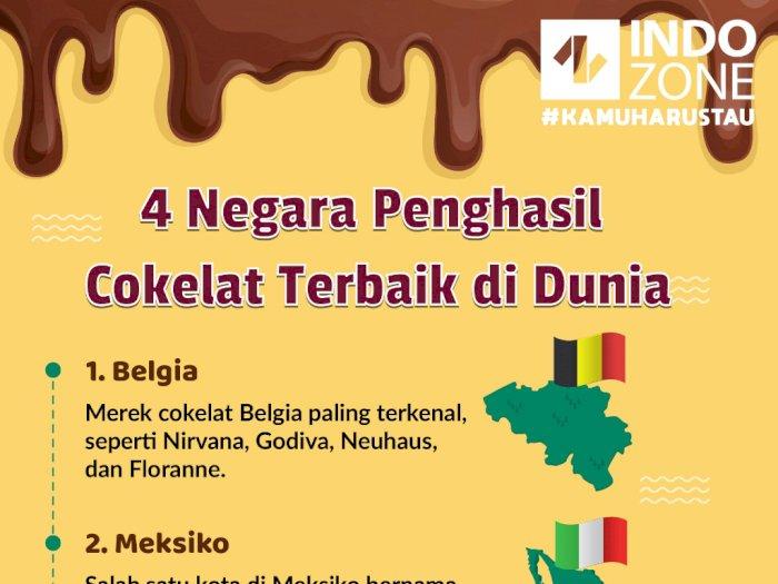 4 Negara Penghasil Cokelat Terbaik di Dunia