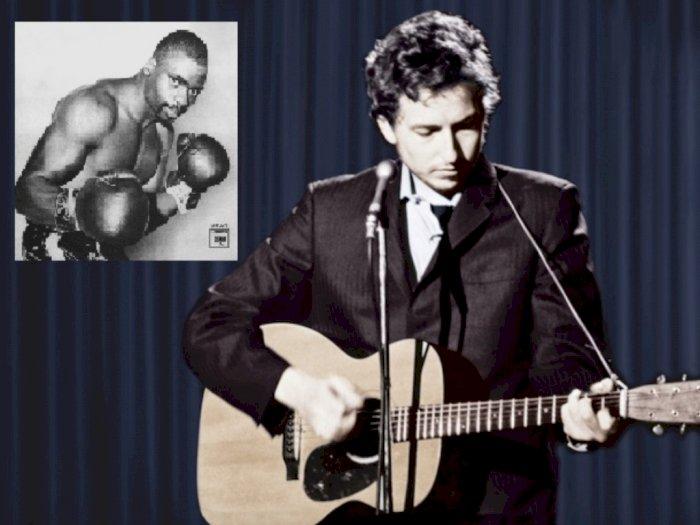 Lewat Lagu 'Hurricane,' Bob Dylan Bela Seorang Petinju Tak Bersalah