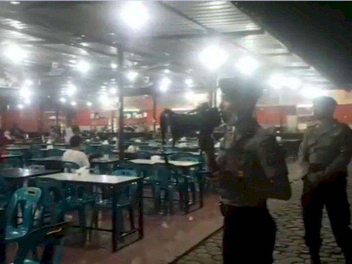 Cegah Corona, Sejumlah Warga di Lokasi Keramaian Dibubarkan